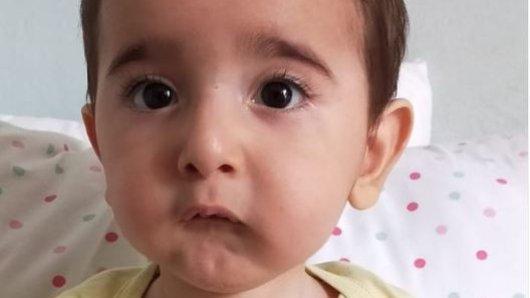 Das Kleinkind wird Ende April zwei Jahre alt.