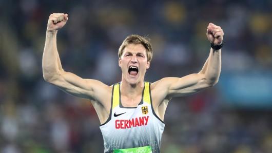 Thomas Röhler hat bei Olympia in Rio Gold im Speerwerfen gewonnen.