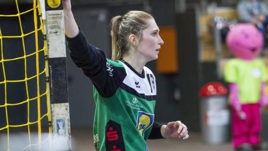 Torhüterin Ann-Cathrin Giegerich wechselt von der Neckarsulmer Sport-Union zum Thüringer HC. (Archivfoto)