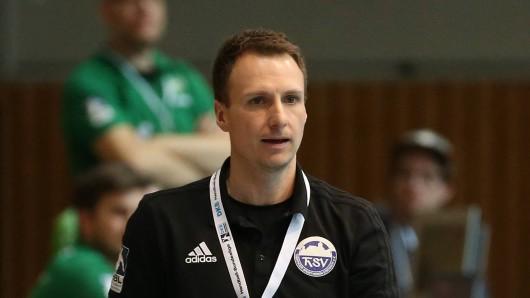 Arne Kühr, Trainer des ThSV Eisenach (Archivfoto)