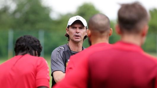 Thomas Brdarić, Trainer bei Rot-Weiß Erfurt (Archivfoto)