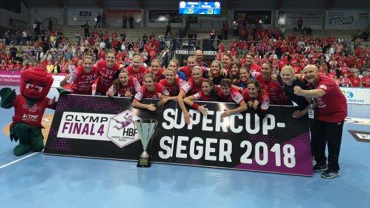 Der Thüringer Handballclub hat den Supercup 2018 gewonnen.