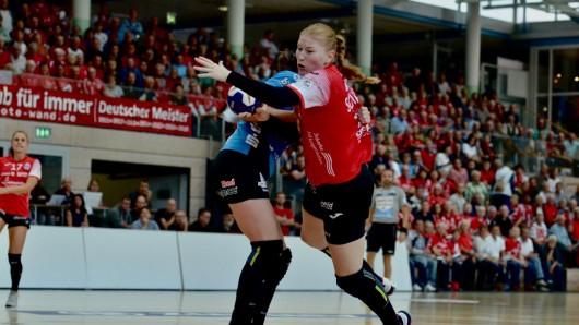 Der Thüringer HC hatte am Samstag (22.09.2018) den Buxtehuder SV zu Gast.