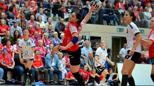 Der Thüringer Handball Club konnte sich deutlich gegen die Frauen der Neckarsulmer Sportunion durchsetzen.