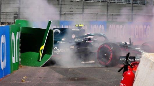 Formel 1: Die Trainings vor dem Frankreich-GP liefen überhaupt nicht nach Vettels Geschmack. Zweimal 15. und ein Abflug gegen die Bande.