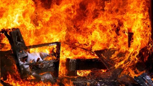 In Thüringen haben Brände am Osterwochenende massive Schäden angerichtet. (Symbolfoto)