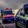 Der Mann wurde per Krankenwagen ins Klinikum nach Apolda gebracht. (Symbolbild)