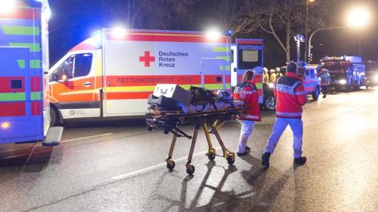 Der 40-Jährigen in Gotha wurde schwer verletzt in ein Krankenhaus gebracht. (Symbolbild)