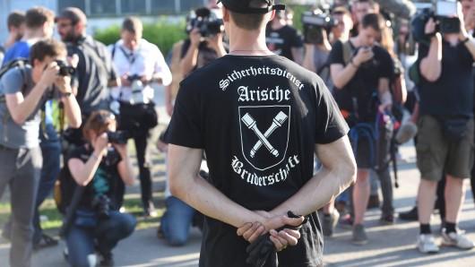 In Mattstedt bei Apolda werden bis zu 3000 Rechtsextreme beim Rock gegen Überfremdung erwartet. Ob das Konzert tatsächlich stattfinden kann, war bis zum Freitagabend noch unklar. (Archivfoto)