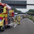 Bei einem schweren Unfall auf der A38 ist am Dienstag ein Mann gestorben. (Symbolfoto)