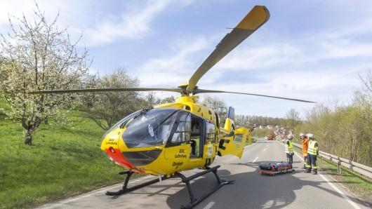 Bei einem Motorradunfall im Ilm-Kreis ist ein Mann lebensbedrohlich verletzt worden. (Symbolfoto)(Symbolbild)