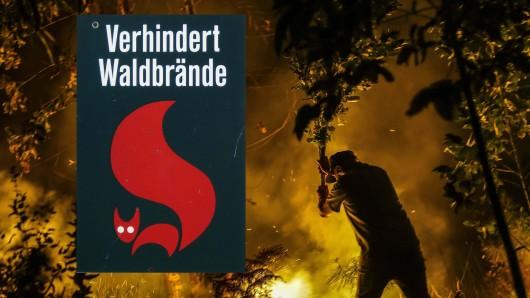 Im Thüringer Wald herrscht akute Waldbrandgefahr. (Symbolfoto)