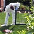 In einem Garten in Apolda ist eine Leiche gefunden worden. (Symbolfoto)