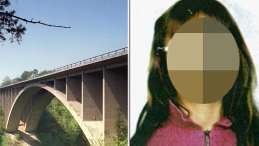Die kleine Stephanie soll von der Teufelstalbrücke gestoßen worden sein. Der Angeklagte weist den Vorwurf zurück.