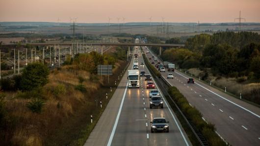 Auf der A71 in Thüringen ist es zu einem Unfall gekommen.