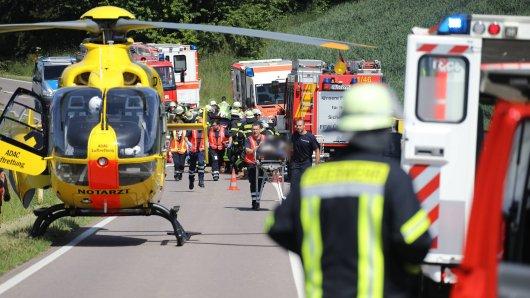Eine Gruppe aus Thüringen wurde in einen schrecklichen Unfall verwickelt.
