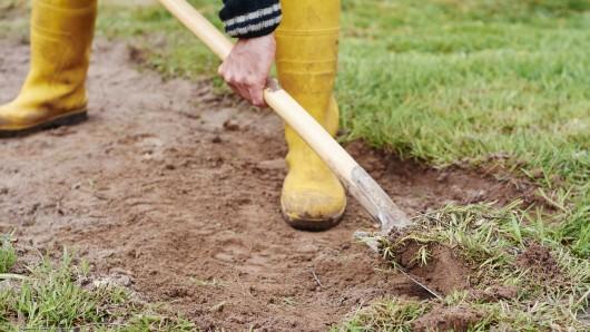 Nach Gartenarbeiten in Thüringen musste der Bereich evakuiert werden.