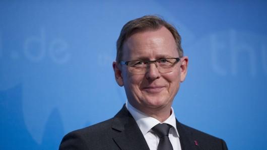Thüringens Ministerpräsident Bodo Ramelow will sich auf Facebook live den Fragen der Bürger stellen. (Archivfoto)