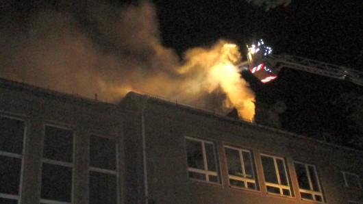 In der Werkstatt des Landestheaters Eisenach ist in der Nacht zum Samstag (18.08.2018) ein Feuer ausgebrochen.