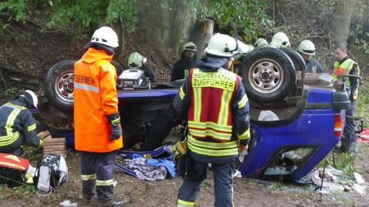 Im Eichsfeld hat sich am Sonntag (23.09.2018) ein schwerer Unfall ereignet.