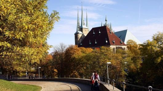 In Erfurt und ganz Thüringen wird das Wetter zu Wochenbeginn herrlich herbstlich.