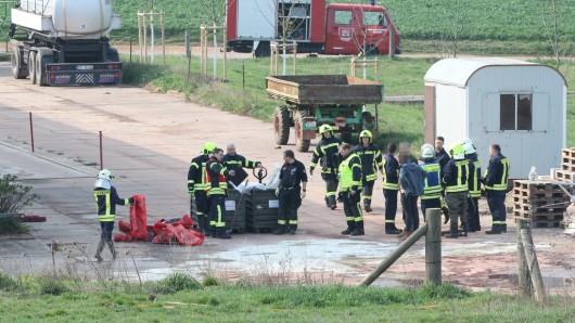 In Seege im Kyffhäuserkreis in Thüringen ist es am Montag (08.04.2019) zu einem Großeinsatz der Feuerwehr gekommen.