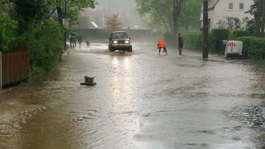 In ganz Thüringen hat es Überschwemmungen gegeben.
