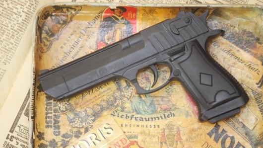 Wegen eines jungen Mannes mit einer Waffe kam die Polizei in Gotha zum Einsatz.
