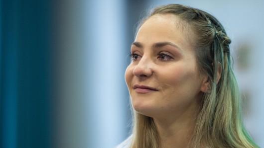 Die querschnittsgelähmte Radsport-Olympiasiegerin Kristina Vogel begeistert einmal mehr (Archivbild).