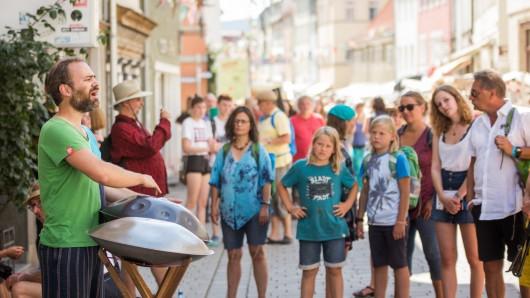 Das Rudolstadt-Festival zog auch in diesem Jahr wieder viele große und kleine Besucher an.