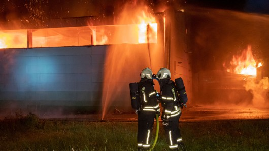Eine Werkshalle in Thüringen ist am Mittwoch abgebrannt. (Symbolfoto)