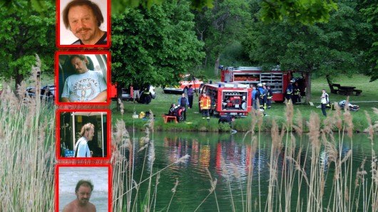 Am Mittwoch veröffentlichte die Polizei Thüringen ein weiteres Bild des Vermissten. Die Suche läuft auf Hochtouren. (Montage)