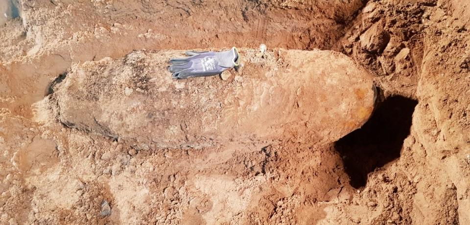 In Meiningen wurde eine Fliegerbombe gefunden.