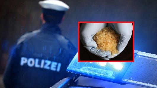 Die Polizei hat drei Crystal Meth-Schmuggler hochgehen lassen. Unfassbar, was sie für einen Lebensstil führten. (Symbolbild/Collage)