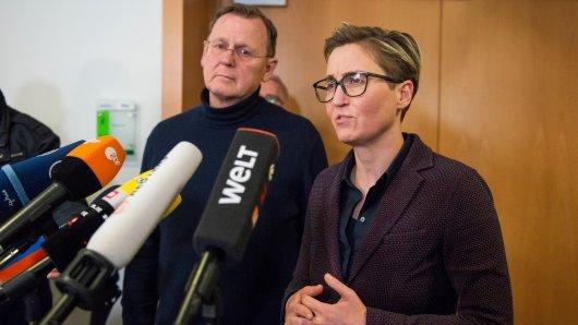 Neuwahlen in Thüringen? Die Parteien diskutieren, wie es weitergeht – die Linke hat nun einen Vorschlag gemacht.
