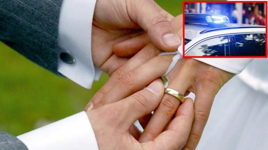 Die Polizei musste am Wochenende bei einer Hochzeit in Thüringen einschreiten. (Symbolbild)