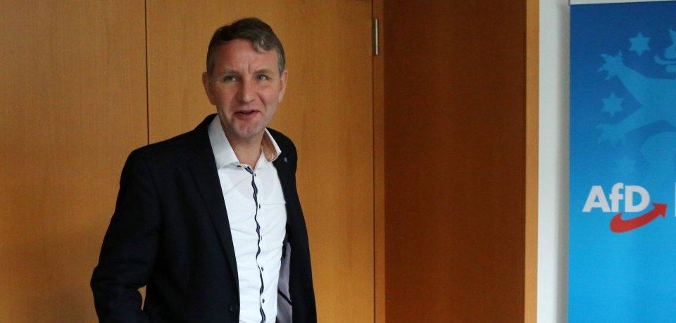 Die AfDThüringen unter Björn Höcke hat noch nicht bekanntgegeben, ob sie einen Kandidaten für den Posten des Ministerpräsidenten ins Rennen schickt.