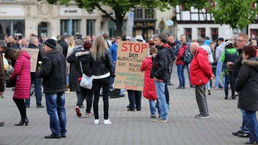 Unter anderem in Erfurt hat es einen Protest gegen die Corona-Regelungen gegeben. Auch in anderen Städten in Thüringen gab es ähnliche Aktionen.