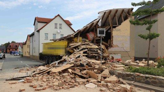 Schrecklicher Lkw-Unfall am Freitagmorgen in Altkirchen.