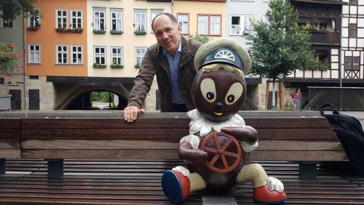 """Der Erfurter Autor Mirko Krüger hat sein neuestes Buch den Worten Pittiplatschs gewidmet: """"Ach du meine Nase""""! Er berichtet auch von einigen Filmen, die in Thüringen gedreht wurden."""