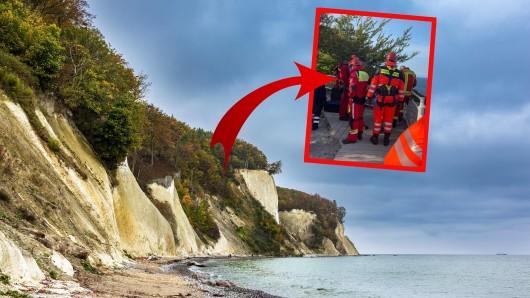 Ein Ehepaar aus Thüringen hat sich auf der Insel Rügen in große Gefahr gebracht!