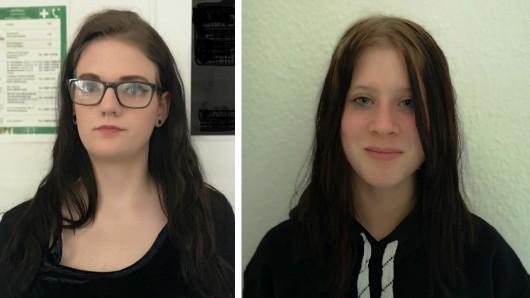 Laura-Sophie (17, links) und Laura (15) werden seit Donnerstag vermisst. Die Polizei hat ihre Fotos zur Fahndung herausgegeben.