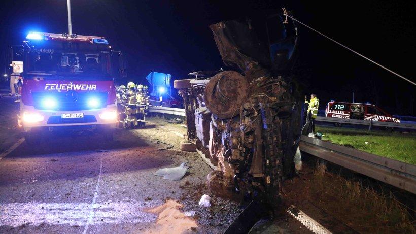 A4 in Thüringen: Sechs Verletzte nach schlimmem Unfall – Polizei vermutet traurige Ursache