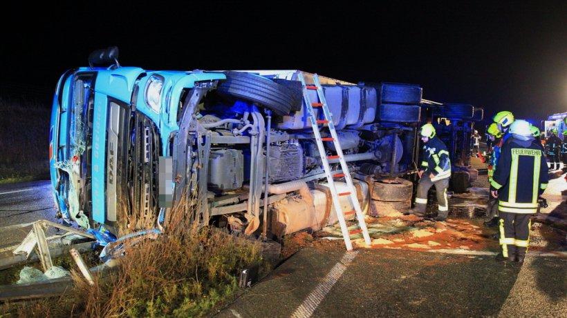 A38 in Thüringen: Unfall! Beide Fahrtrichtungen stundenlang gesperrt