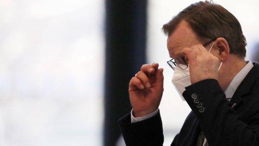 Ministerpräsident Bodo Ramelow ist verärgert über ein Streitthema in Thüringen.