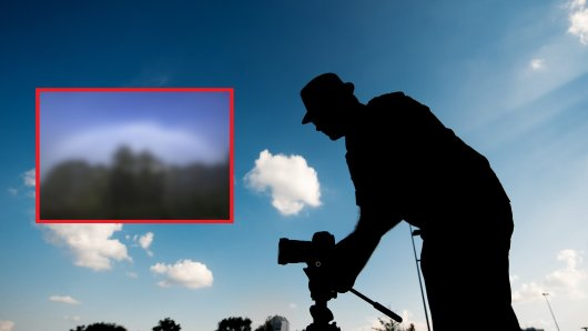 Ein Fotograf hat in Thüringen ein besonderes Wetterphänomen fotografiert. (Symbolbild)