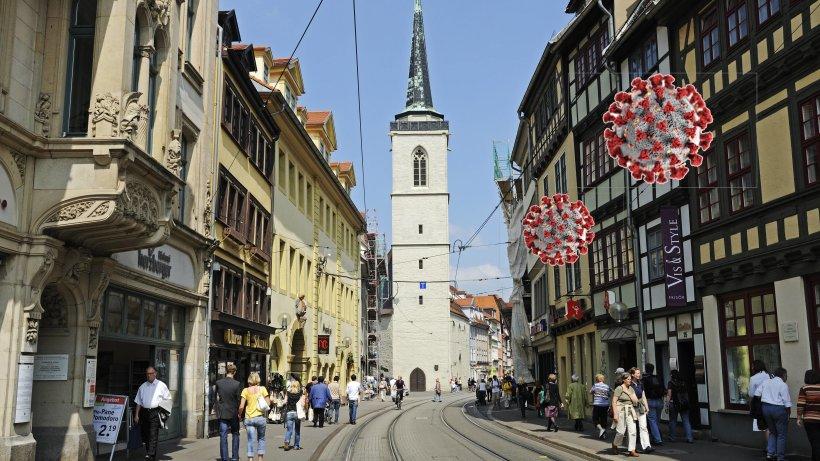 Corona in Thüringen: Erfurt will Geschäfte im Alleingang öffnen