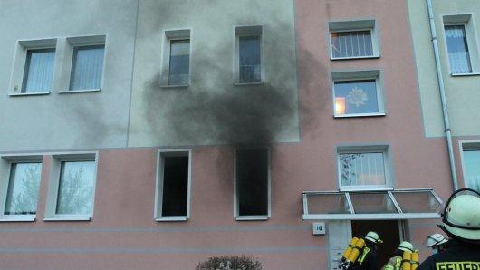 In Sondershausen kam es zu einem Brand.