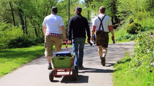 Am Vatertag in Thüringen ist leider nicht alles erlaubt. (Archivbild)