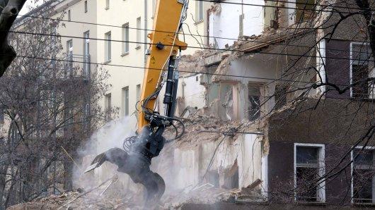 In Thüringen sollen 10.000 Wohnungen bald in Schutt und Asche liegen. (Symbolbild)